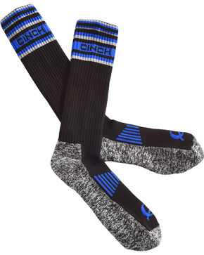 Cinch Men's Black Performance Boot Socks, Black, hi-res