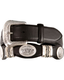 Tony Lama Unisex Cutting Champ Belt, , hi-res