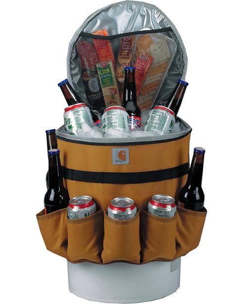 Carhartt 5-Gallon Insulated Bucket Cooler , Brown, hi-res