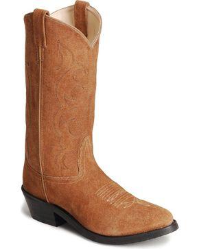 """Jama Men's Trucker Cowboy 13"""" Work Boots, Natural, hi-res"""