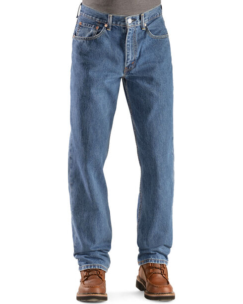 Levi's Men's 550 Relaxed Fit Jeans, Stonewash, hi-res
