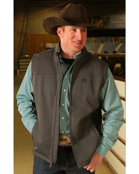 Cinch Men's Bonded Sweater Knit Vest, , hi-res