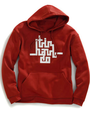 Tin Haul Men's Abstract Logo Pullover Hoodie, Rust, hi-res