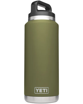 Yeti Olive Green 36 oz. Bottle Rambler , Olive, hi-res