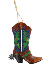 BB Ranch® Western Boot Christmas Ornament, , hi-res