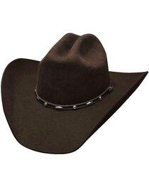 Bullhide Men's Added Money 7X Wool Hat, , hi-res
