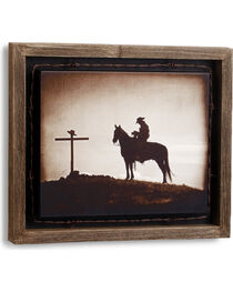 Big Sky Carvers Evening Reflection Barnwood Shadow Box, , hi-res