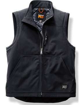 Timberland Pro Men's Water Repellent Insulated Vest, Black, hi-res