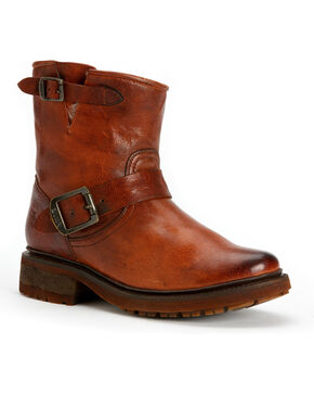 Frye Women's Valerie 6 Shearling Ankle Boots, Cognac, hi-res