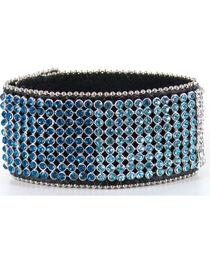 Shyanne® Women's Rhinestone Cuff Bracelet, Multi, hi-res