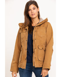 Carhartt Women's Weathered Duck Wesley Coat, , hi-res