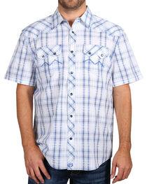 Moonshine Spirit® Men's Plaid Short Sleeve Shirt, , hi-res