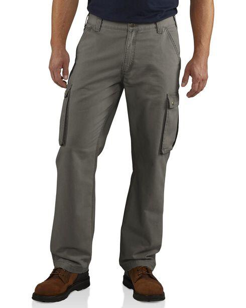 Carhartt Men's Rugged Cargo Pants, Grey, hi-res