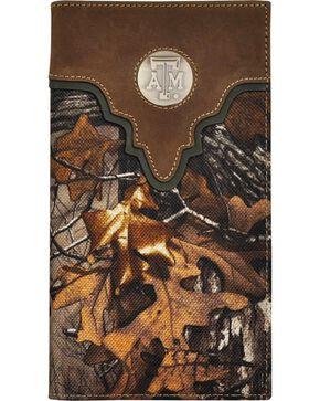 Texas A&M  Camo Concho Checkbook Wallet, Camouflage, hi-res