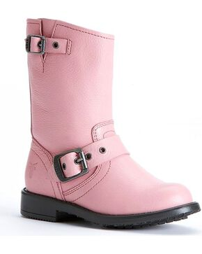 Frye Kids' Engineer Pull-On Boots, Pink, hi-res