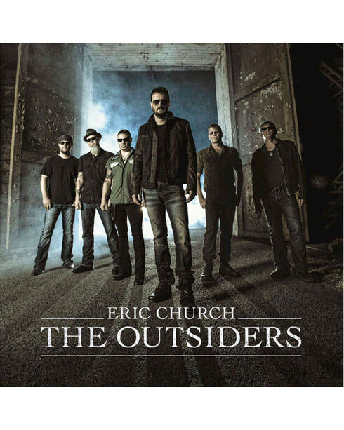 Eric Church - The Outsiders Music CD, No Color, hi-res