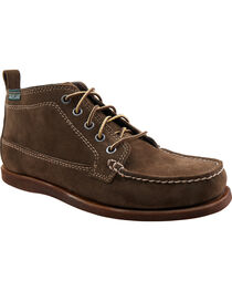 Eastland Men's Dark Olive Suede Seneca Camp Moc Chukka Boot , Brown, hi-res