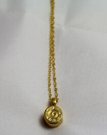 SouthLife Supply Women's Dolley Bullet Necklace in Traditional Gold, , hi-res
