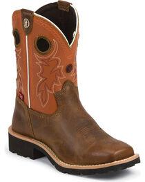 Tony Lama Boys' 3R Western Boots - Square Toe, , hi-res