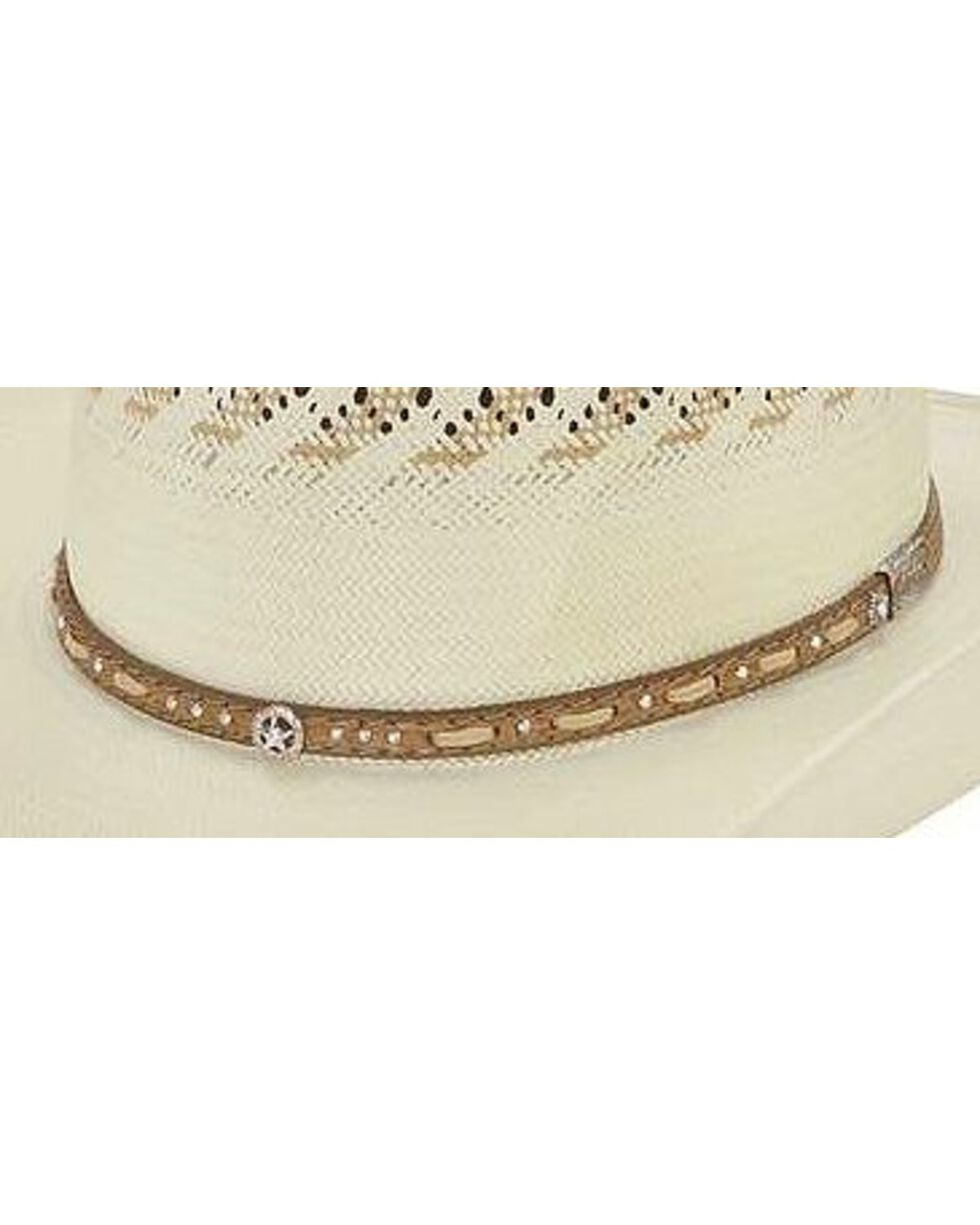 Larry Mahan 10X Granger Straw Cowboy Hat, Natural, hi-res