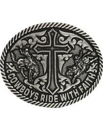 Cody James® Men's Ride with Faith Belt Buckle, , hi-res