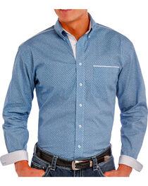 Rough Stock Men's Printed Long Sleeve Shirt, , hi-res
