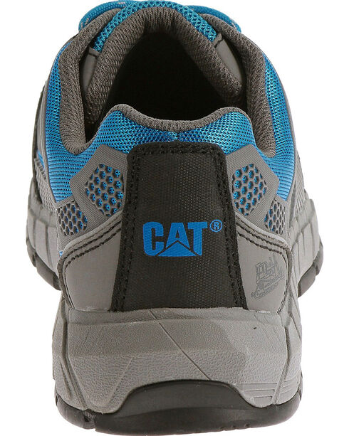 Caterpillar Women's Blue Streamline Work Shoes - Composite Toe , Blue, hi-res