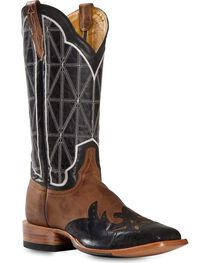 Cinch Men's Embroidered Square Toe Western Boots, , hi-res