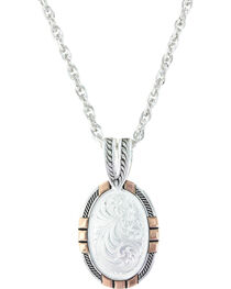 Montana Silversmiths Women's New Traditions Rose Gold Pendant Necklace , , hi-res