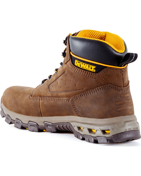 DeWalt Men's Halogen Work Boots - Aluminum Safety Toe , Brown, hi-res
