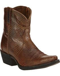 Ariat Sassy Brown Marilyn Short Western Boots, , hi-res