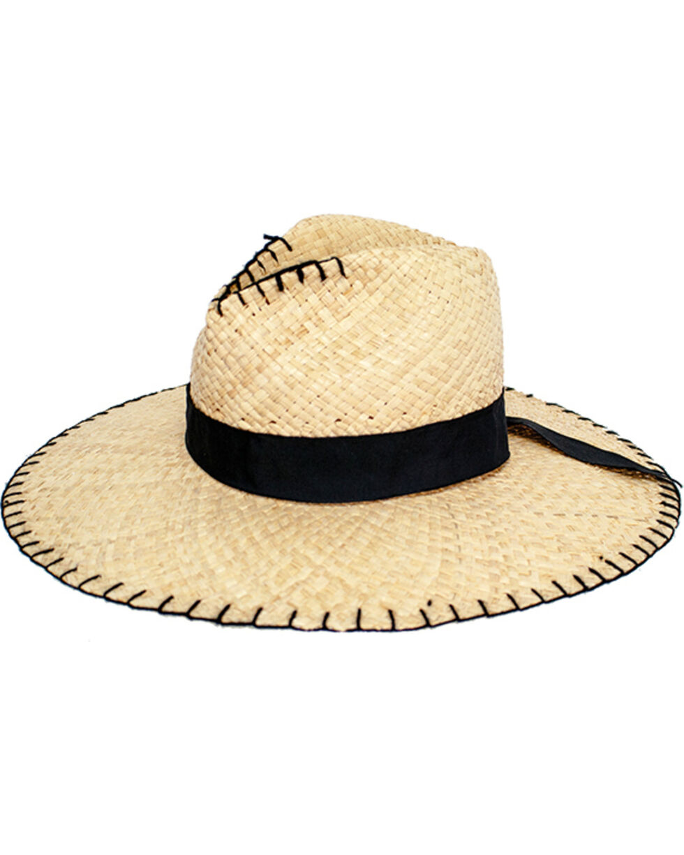 Peter Grimm Women's Natural Delfina Sun Hat , Natural, hi-res