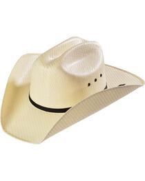 M&F Western Kids' Natural Sancho Straw Cowboy Hat, , hi-res