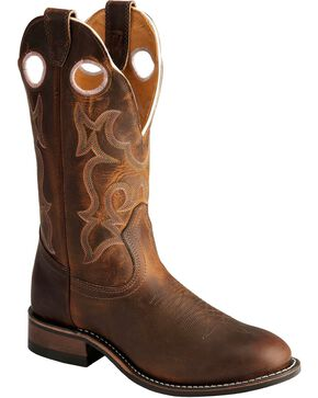"Boulet Women's 12"" Super Roper Rider Sole Boots, Tan, hi-res"