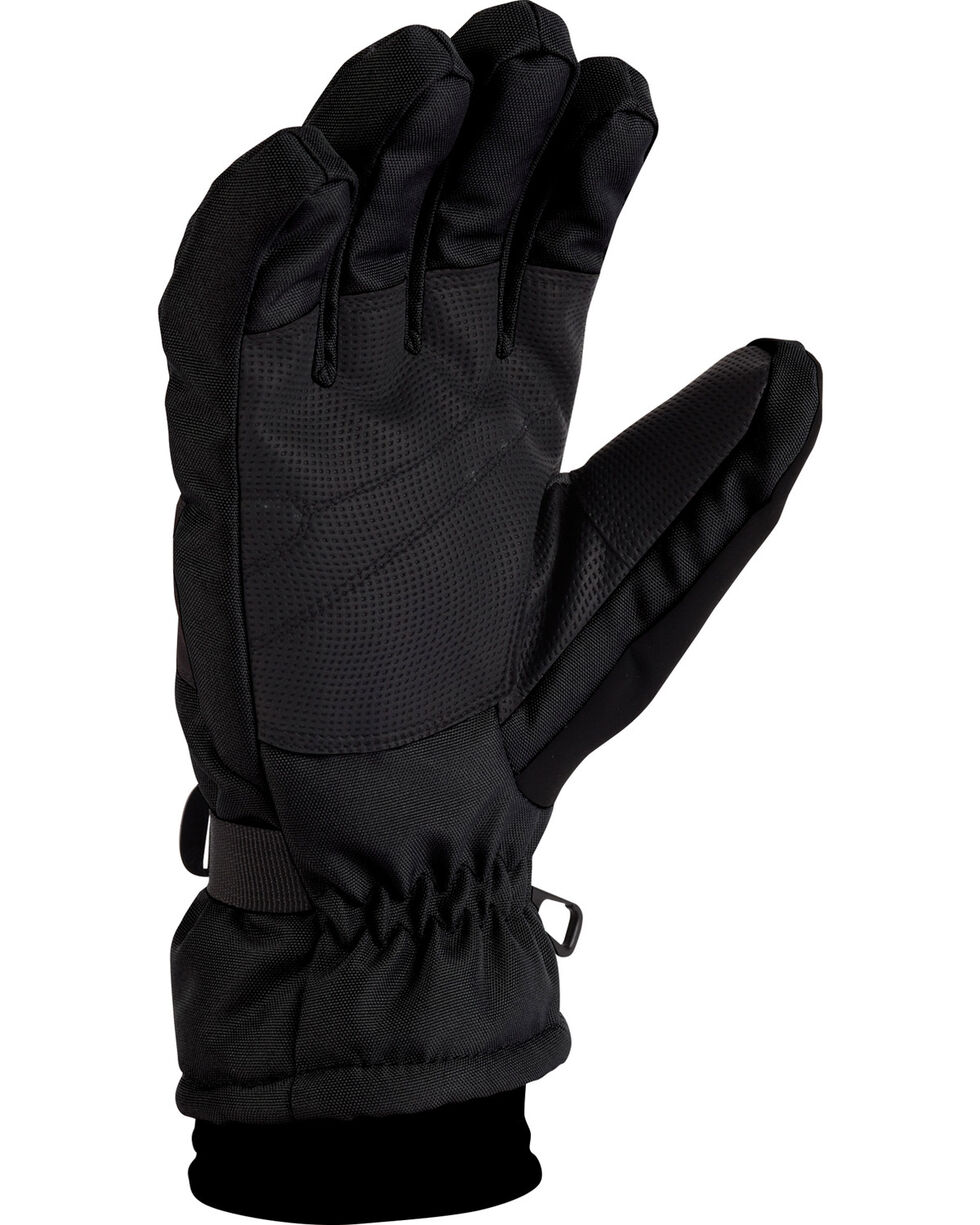 Carhartt Men's Waterproof Insulated Performance Gloves, Black, hi-res