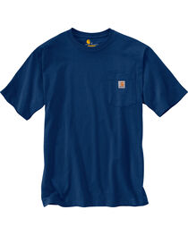 Carhartt Men's Workwear Pocket T-Shirt - Big and Tall, , hi-res