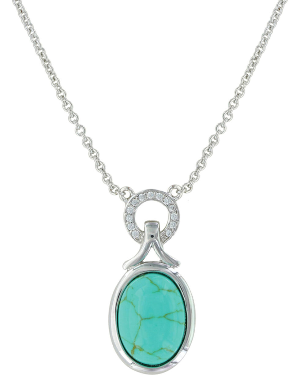 Montana Silversmiths Women's On Top Of The World Necklace , Silver, hi-res
