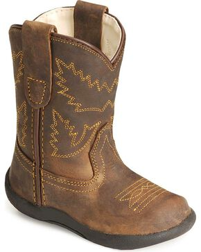 Jama Infant's Tubies Western Boots, Crazyhorse, hi-res