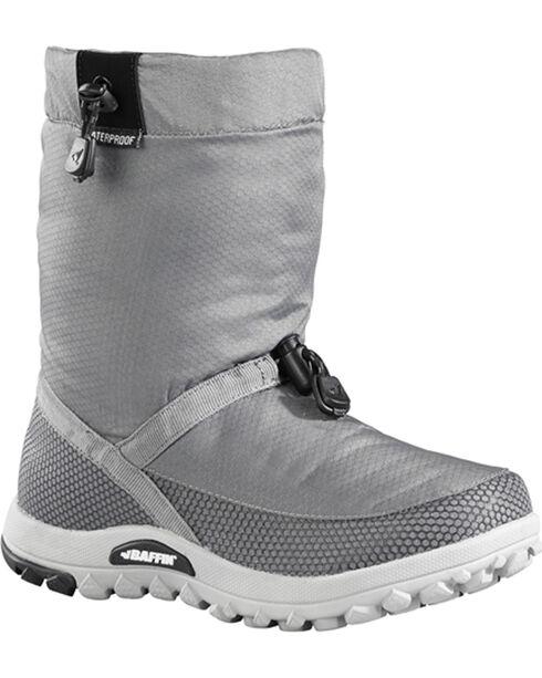 Baffin Women's Ease Series Waterproof Winter Boots - Round Toe , Grey, hi-res