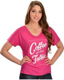 Katydid Coffee Before Talkie Tee, , hi-res
