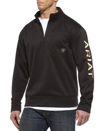 Ariat Tek Fleece 1/4 Zip Pullover, , hi-res
