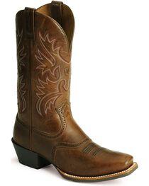 Ariat Men's Legend Roughed Western Boots, , hi-res