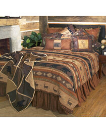 Carstens Autumn Trails Twin Bedding - 4 Piece Set, , hi-res