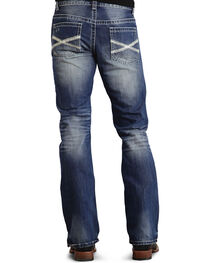 Stetson Men's Premium Rocks Fit Boot Cut Jeans, , hi-res