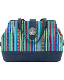 Bandana by American West Women's Buena Vista Multi Compartment Large Tote, , hi-res