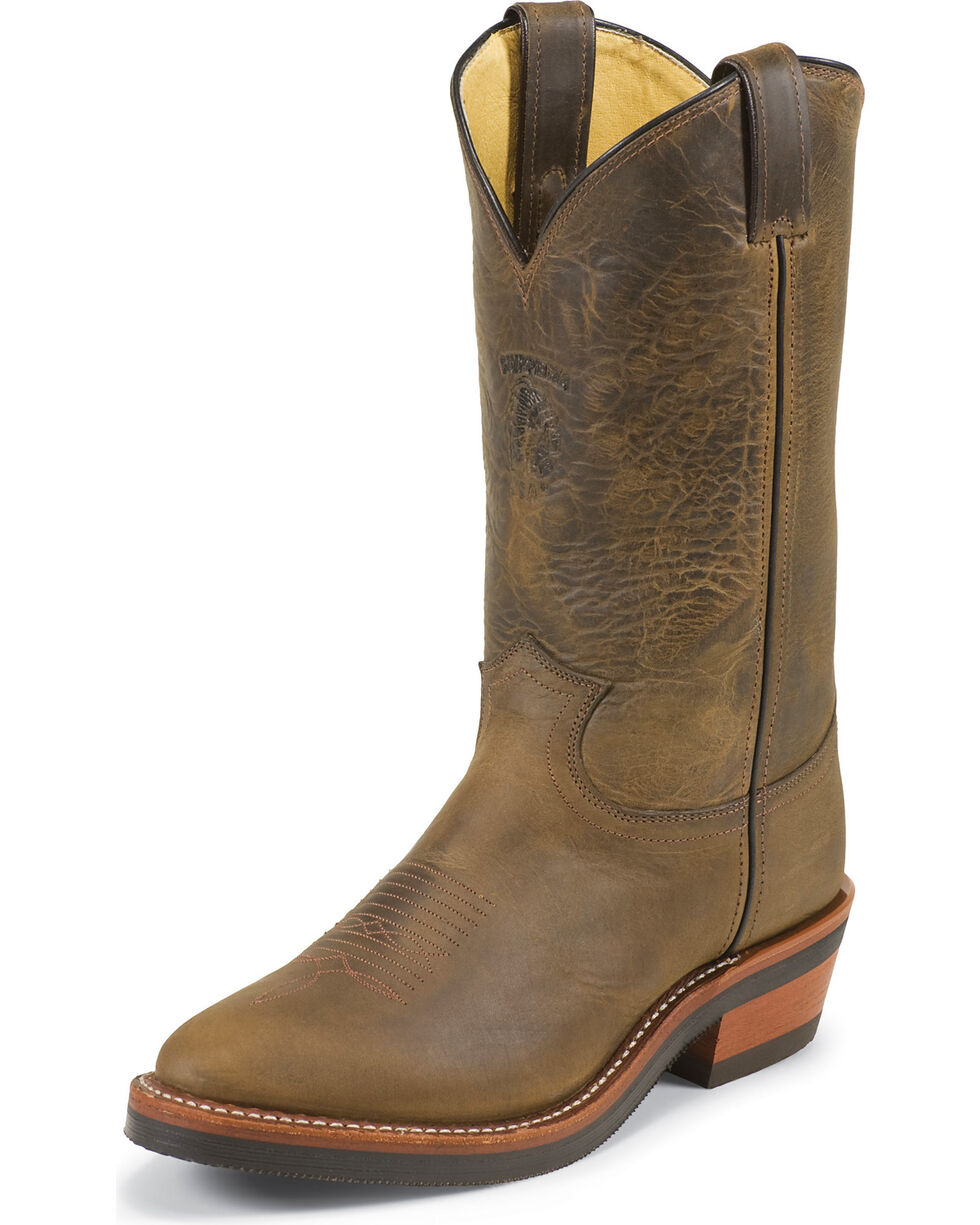 Chippewa Men's Arroyos Western Work Boots, Bay Apache, hi-res