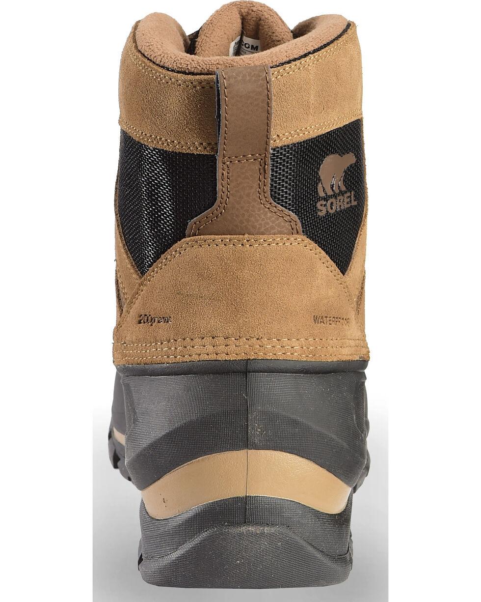 Sorel Men's Buxton Lace Up Winter Boots, Black, hi-res