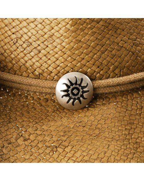 Pinchfront Straw Cowboy Hat, Tobacco, hi-res