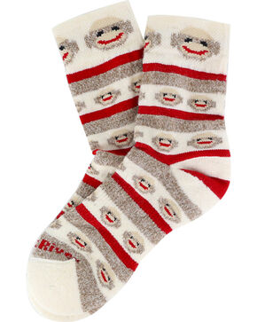 FoxRiver Kid's Merino Crew Socks, Multi, hi-res