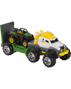 John Deere Semi Launcher with Mighty Movers Vehicle , No Color, hi-res